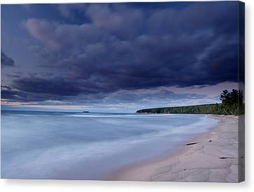Lake Superior Shoreline Canvas Print by Eric Foltz