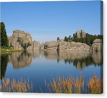 Lake Sylvan Canvas Print