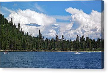 Lake Tahoe No. 3 Canvas Print by Sandy Taylor