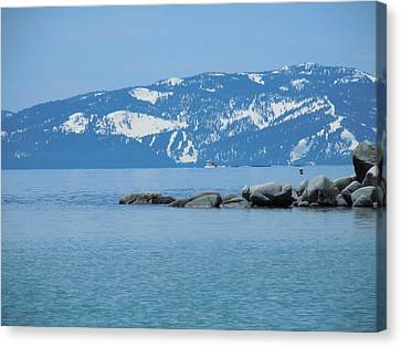 Canvas Print featuring the photograph Lake Tahoe by Dan Whittemore