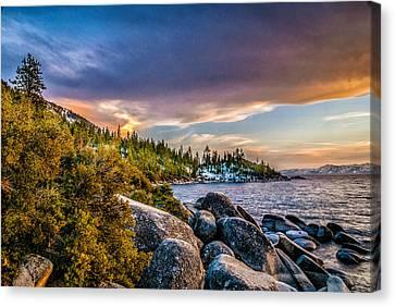 Lake Tahoe Canvas Print by Donald Pash