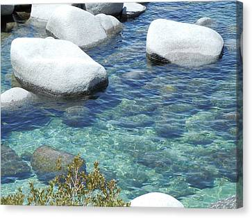 Lake Tahoe In May Canvas Print by Dan Whittemore