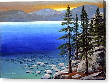 Lake Tahoe Sunrise Canvas Print