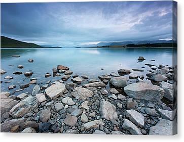 Lake Tekapo In Morning Canvas Print