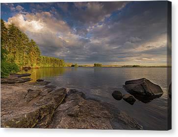Lake Three Canvas Print