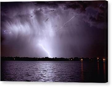 Lake Thunderstorm Canvas Print
