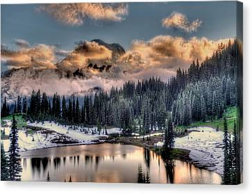 Lake Tipsoo, Mt Rainier Canvas Print