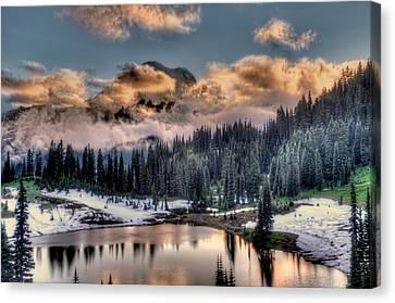 Lake Tipsoo, Mt Rainier Canvas Print
