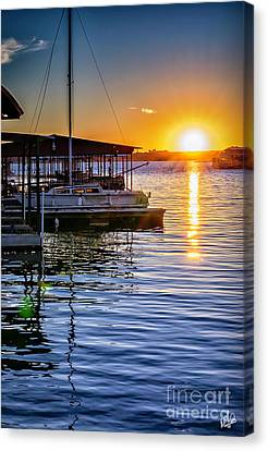 Canvas Print featuring the photograph Lake Travis by Walt Foegelle
