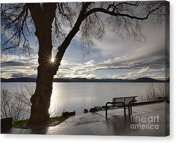 Lake View Canvas Print by Idaho Scenic Images Linda Lantzy