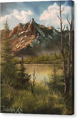 Lake View Mountain  Canvas Print