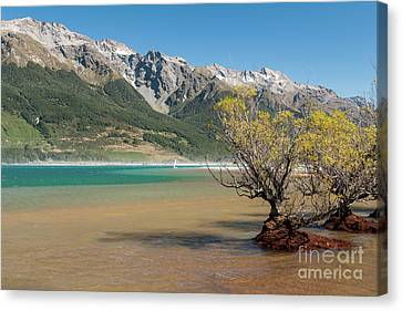Lake Wakatipu Canvas Print by Werner Padarin