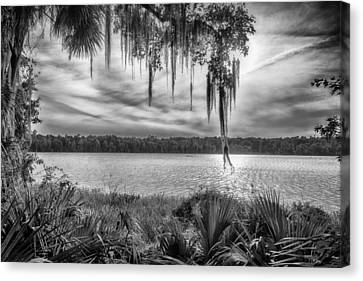 Canvas Print featuring the photograph Lake Wauberg   by Howard Salmon