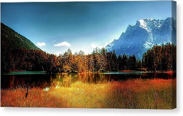 Lake Weissensee Beauty Canvas Print
