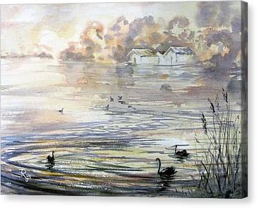 Lake Wendouree Canvas Print