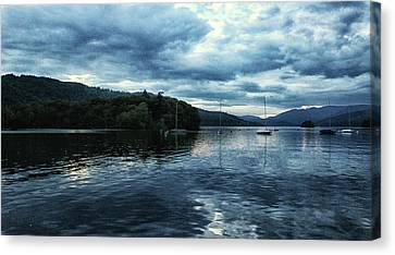 Lake Windermere Reflections Canvas Print
