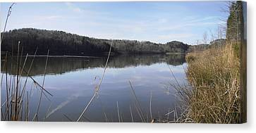 Lake Zwerner Early Spring Canvas Print