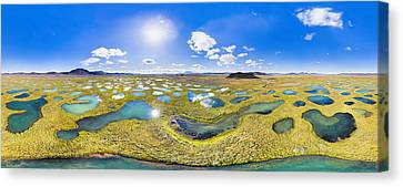 Lakeland In 360 Degrees Canvas Print