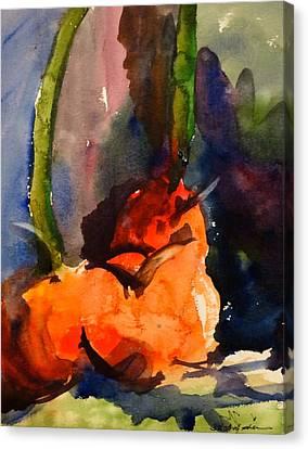 Lakelyn's Pumpkins Canvas Print