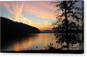 Lakeside Dreaming Canvas Print
