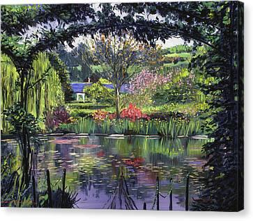 Lakeside Giverny Canvas Print