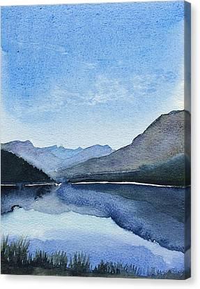 Lakeside Canvas Print by Stephanie Aarons