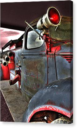 Lakewood Mountair Fire Dept.  Canvas Print