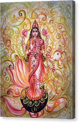 Lakshmi Darshanam Canvas Print