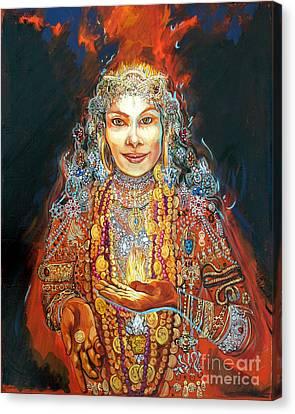 Lakshmi Canvas Print by Lara B Sorensen