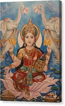 Lakshmi Canvas Print by Sabrina Phillips