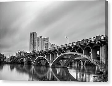 Lamar Bridge In Austin, Texas Canvas Print