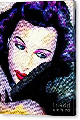Lamarr Canvas Print