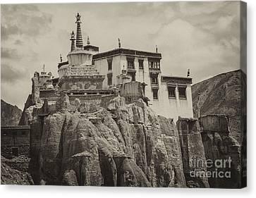Lamayuru Monastery Canvas Print by Hitendra SINKAR