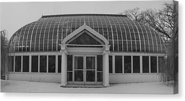 Canvas Print featuring the photograph Lamberton  Arboretum In Winter by Joshua House