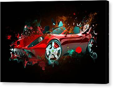 Lamborghin Canvas Print by Mark Ashkenazi