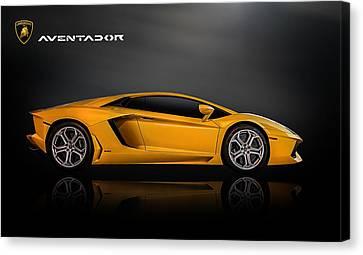 Lamborghini Aventador Canvas Print by Douglas Pittman
