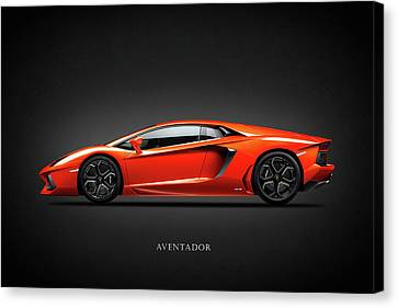Lamborghini Aventador Canvas Print by Mark Rogan