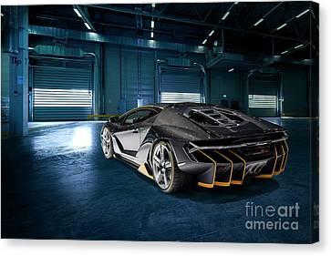 Lamborghini Centenario Lp 770-4 Canvas Print