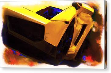 Lamborghini Front End Canvas Print by Brian Reaves
