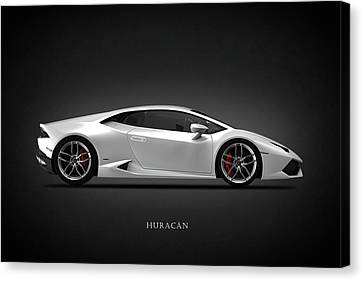 Lamborghini Huracan Canvas Print by Mark Rogan