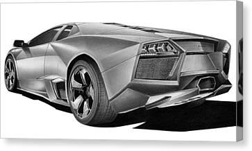 Lamborghini Reventon Canvas Print by Lyle Brown