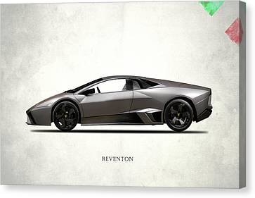 Lamborghini Reventon Canvas Print by Mark Rogan