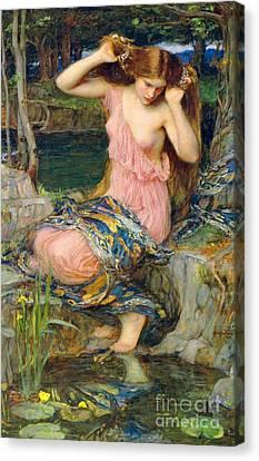 Lamia 1909 Canvas Print by Padre Art