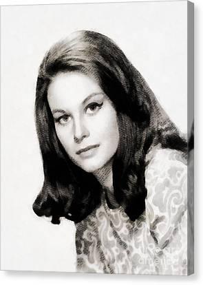 Lana Wood, Vintage Actress Canvas Print