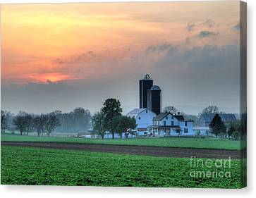 Lancaster County Canvas Print