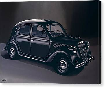 Lancia Ardea 1939 Painting Canvas Print by Paul Meijering