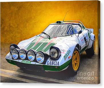 Lancia Stratos Canvas Print
