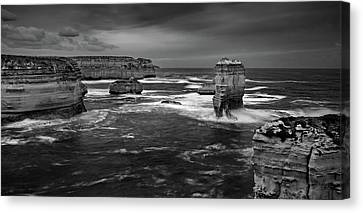Land And Sea Canvas Print by Mark Lucey