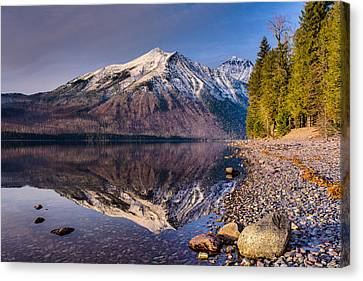 Land Of Shining Mountains Canvas Print