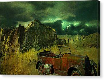 Land Rover Canvas Print by Jeff Burgess